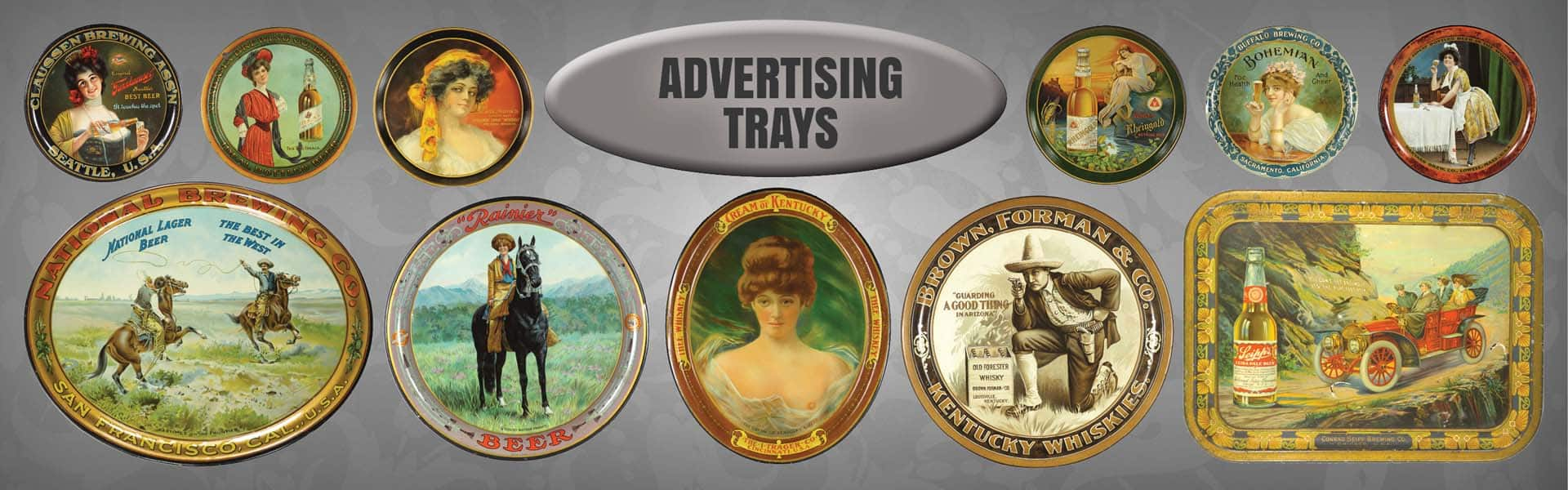 Advertising Trays