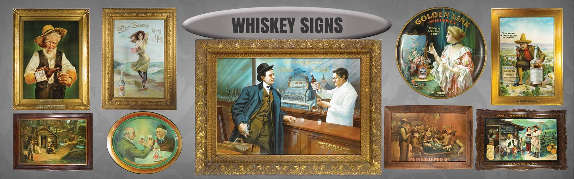 Whiskey Signs